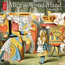 British Library - Alice in Wonderland mini wall calendar 201