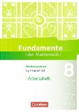 Pallack, Andreas Fundamente der Mathematik 8. Schuljahr. Arbeitsheft mit Lösungen. Gymnasium Niedersachsen