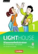 Schweitzer, Bärbel English G LIGHTHOUSE 01: 5. Schuljahr. Klassenarbeitstrainer mit Lösungen und Audios online