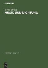 Martin Bircher Musik Und Dichtung