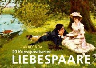 20 Kunstpostkarten Liebespaare