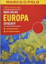 , MARCO POLO Maxi-Atlas Europa 2018/2019