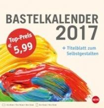 Bastelkalender 2017 mittel champagner