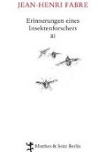 Fabre, Jean-Henri Erinnerungen eines Insektenforschers 03
