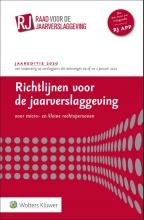 , Richtlijnen voor de jaarverslaggeving voor micro- en kleine rechtspersonen 2020