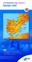 ANWB , ANWB Wegenkaart Spanje Portugal 3 Spanje zuid