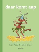 Rian Visser , daar komt aap