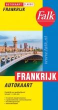 , Falk autokaart Frankrijk classic