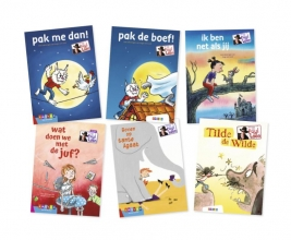 Paul van Loon , Pakket AVI-lezen met Paul van Loon groep 3 (6 titels)