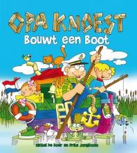 Michel de Boer, Frits  Jongboom Opa Knoest bouwt een boot