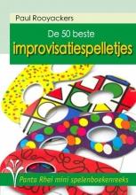Paul Rooyackers , De 50 beste improvisatiespelletjes