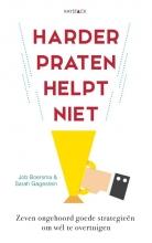 Sarah Gagestein Job Boersma, Harder praten helpt niet