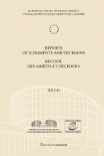 , Reports of judgments and decisions - recueil des arrets et decisions 2013-II