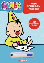 Studio 100 Bumba Gert Verhulst, Bumba : kartonboek - schrijf en wis
