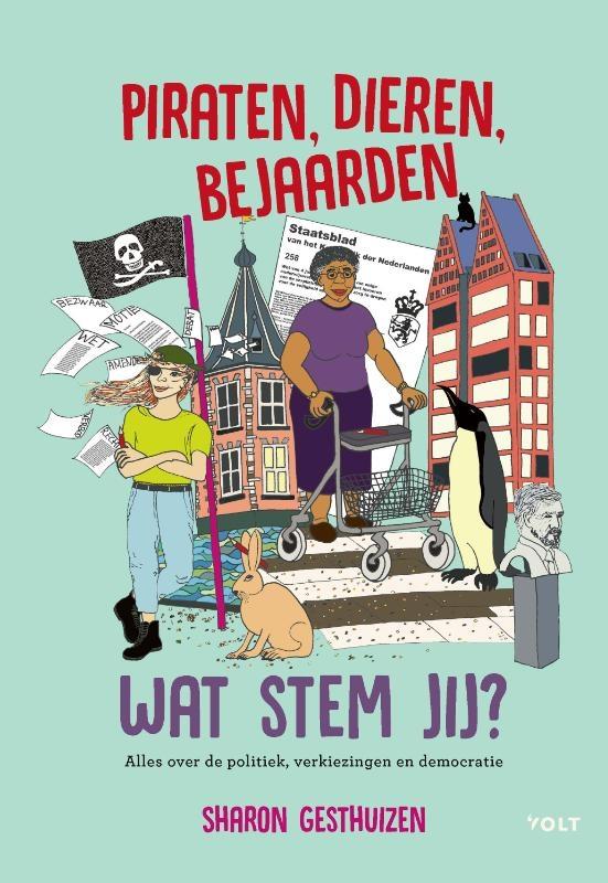 Sharon Gesthuizen,Piraten, dieren, bejaarden