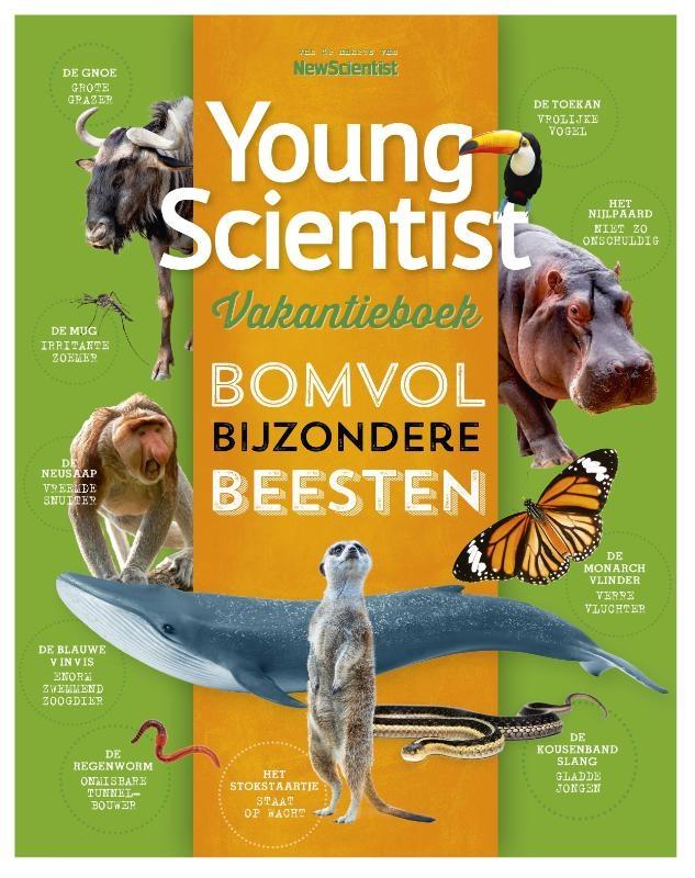 Redactie New Scientist,Young Scientist Vakantieboek Zomer 2020