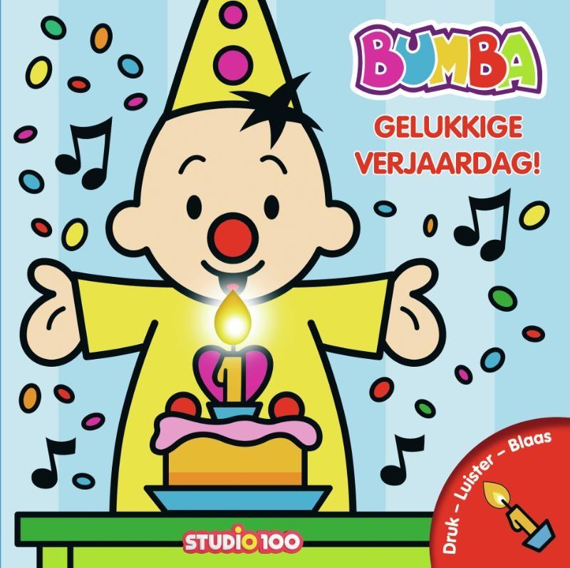 Gert Verhulst,Bumba : verjaardagsboek met kaars en muziek