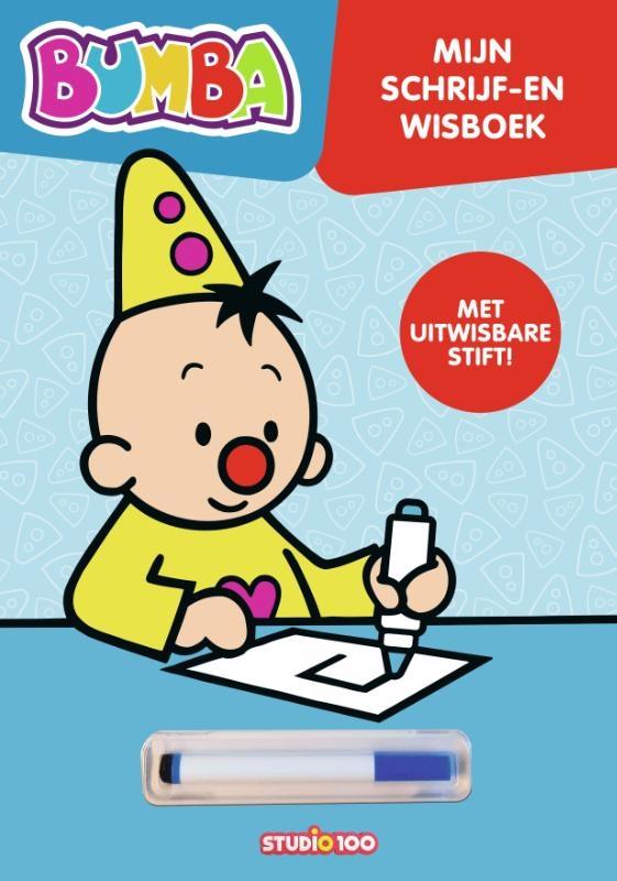 Gert Verhulst, Studio 100 Bumba,Bumba : kartonboek - schrijf en wis