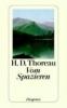 Thoreau, Henry David,Vom Spazieren