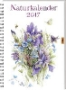 Bastin, Marjolein,Naturkalender 2017