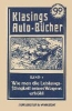 Kayser, August,Klasings Auto-Bücher Band 3