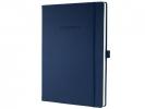 ,notitieboek Conceptum Pure    donkerblauw A4 194blz gelijnd