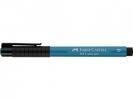 Fc-167453 ,Faber-Castell Tekenstift Pitt Artist Pen Brush Cobalt Turquoise 153