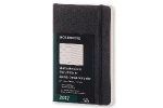 ,Moleskine 12 month - weekly - pocket - black - soft cover