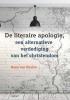 Hans van Stralen, ,De literaire apologie