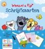 ,<b>Woezel & Pip schrijfkaarten</b>