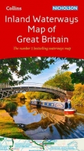Collins Maps Collins Nicholson Inland Waterways Map of Great Britain