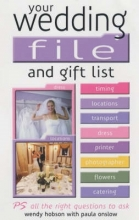 Wendy Hobson,   Paula Onslow Your Wedding File and Gift List