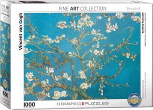 Eur-6000-0153 , Puzzel  eurographics - almond blossom - vincent van gogh  1000 stukjes 48x68 cm