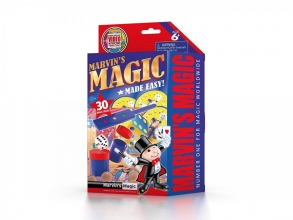 Mar-mme3012 , Marvin`s magic made easy - 30 magic tricks - rood