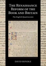 David Rundle The Renaissance Reform of the Book and Britain