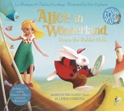 Carroll, Lewis Alice in Wonderland: Down the Rabbit Hole Book and CD Pack