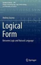 Andrea Iacona Logical Form