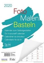 Foto-Malen-Basteln A4 weiß Notice 2020