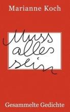 Koch, Marianne Muss alles sein