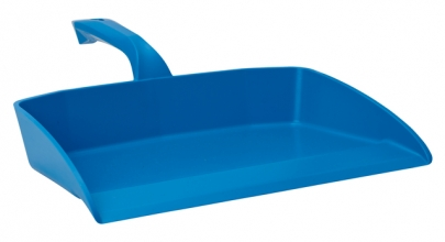 , Stofblik Vikan 330x295mm blauw kunststof