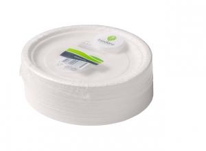 , Bord Biodore karton 180mm wit 100 stuks