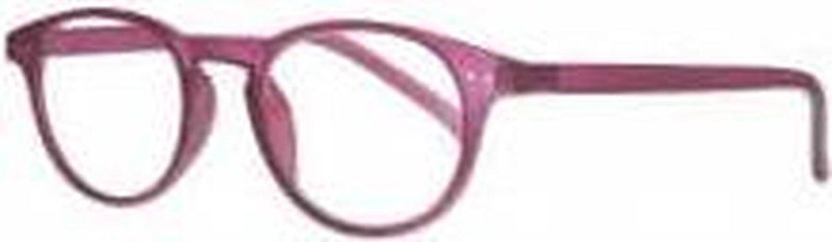 Ki003,Leesbril icon 3.00 cranberry