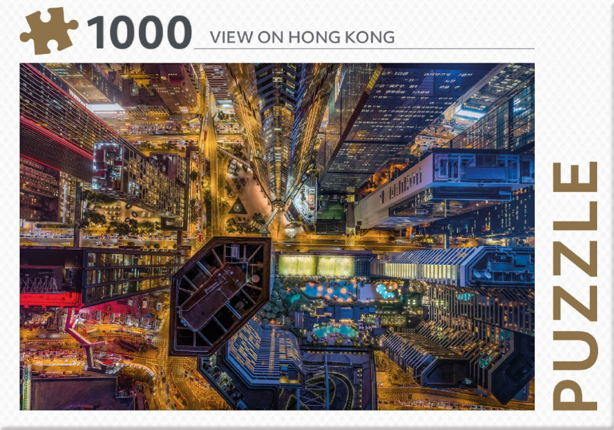 ,Rebo legpuzzel 1000 stukjes - Hong Kong