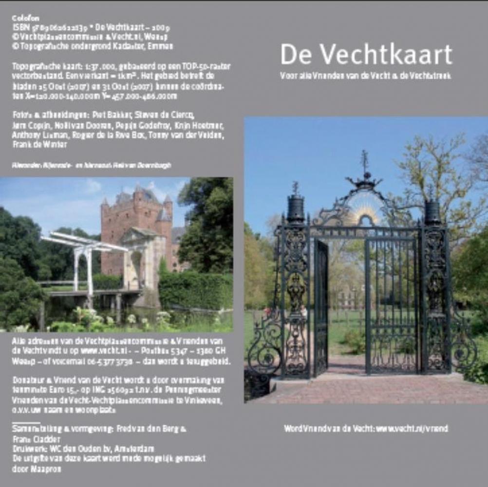 F.H.B. Cladder, Floris van den Berg,,De Vechtkaart