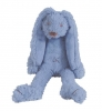 <b>Hap-132104</b>,Tiny deep blue rabbit richie - 28 cm - happy horse