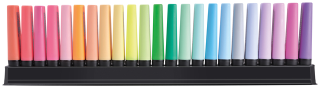 ,Markeerstift STABILO Boss Original 50-jarige jubileum deskset à 23 kleuren
