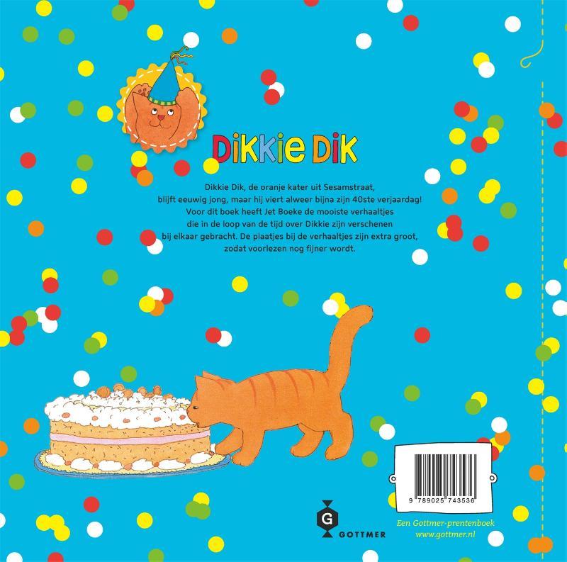 Jet Boeke, Arthur van Norden,Het dikke verjaardagsboek van Dikkie Dik