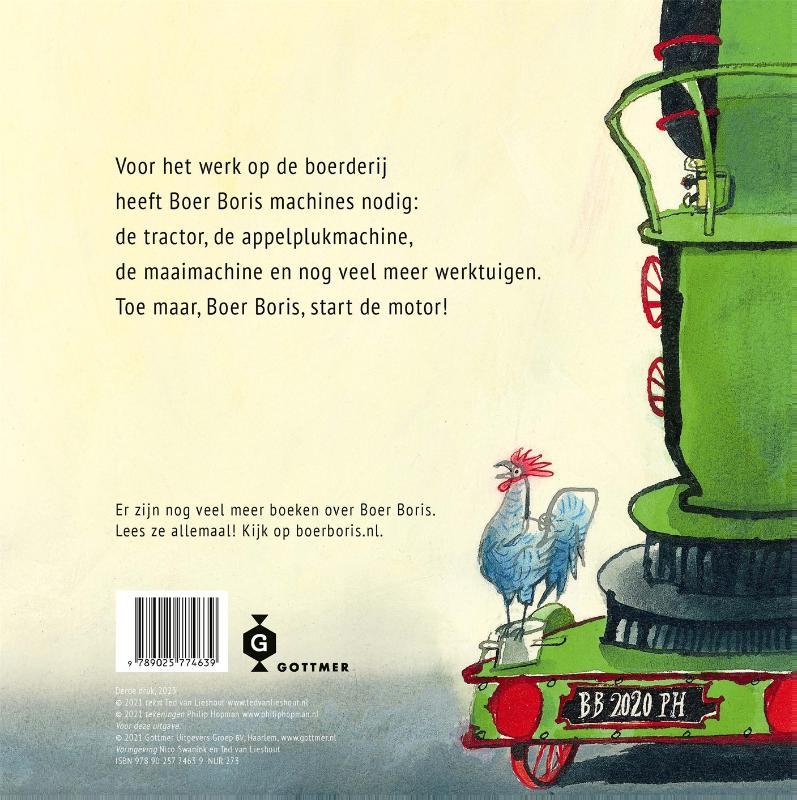 Ted van Lieshout, Philip Hopman,Boer Boris, start de motor!