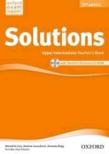 Solutions: Upper Intermediate. Teacher`s Book and CD-ROM Pack