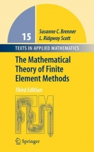 Susanne Brenner,   Ridgway Scott The Mathematical Theory of Finite Element Methods